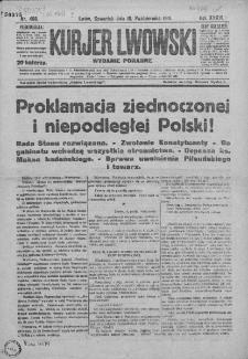 Kurjer Lwowski. 1918. Rok XXXVI. Nr 468