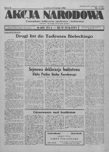 Akcja Narodowa : dwutygodnik polityczny, społeczny i kulturalny. 1935, nr 6