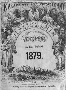 Haliczanin : kalendarz powszechny na Rok Pański 1879