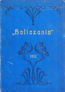 Haliczanin : kalendarz powszechny na Rok Pański 1912