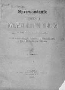 Sprawozdamie Dyrekcji Towarzystwa Kredytowego Miasta Łodzi R. 5.1879/1880