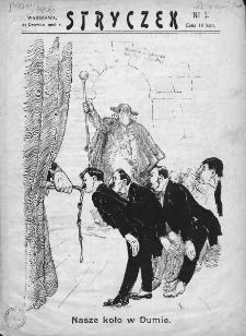 Stryczek. 1906, nr 1