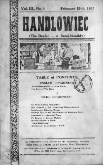 Handlowiec. 1937, nr 4