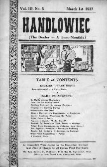 Handlowiec. 1937, nr 5