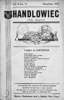 Handlowiec. 1937, nr 15