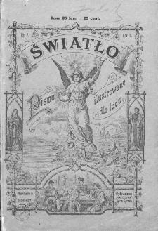 Światło : pismo ilustrowane dla ludu. Rok II. 1888, nr 2
