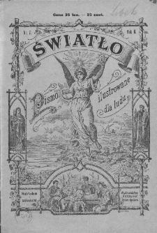 Światło : pismo ilustrowane dla ludu. Rok II. 1888, nr 7