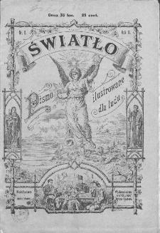 Światło : pismo ilustrowane dla ludu. Rok II. 1888, nr 9