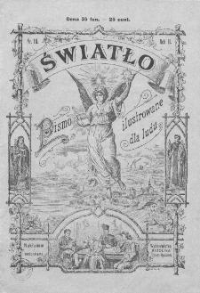 Światło : pismo ilustrowane dla ludu. Rok II. 1888, nr 10