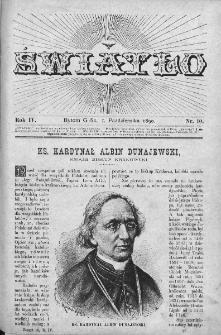 Światło : pismo ludowe ilustrowane. Rok IV. 1890, nr 10