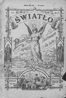 Światło : pismo ilustrowane dla ludu. Rok VII. 1893, dodatek do nr 9