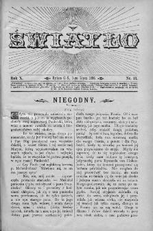 Światło : pismo ludowe ilustrowane. Rok X. 1896, nr 13