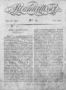 Rozmaitości 1831, nr 8
