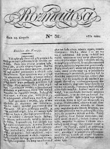 Rozmaitości 1831, nr 32