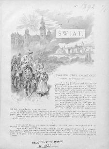 Świat : dwutygodnik illustrowany. 1892. R. V