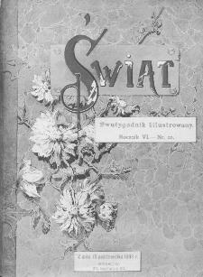Świat : dwutygodnik illustrowany. 1893. R. VI, nr 20