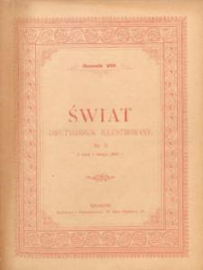 Świat : dwutygodnik illustrowany. 1895. R. VIII, nr 3