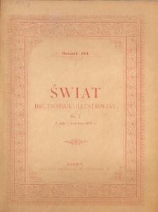 Świat : dwutygodnik illustrowany. 1895. R. VIII, nr 7