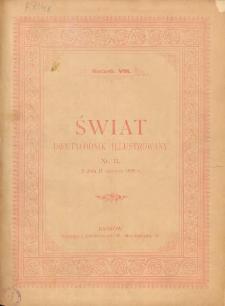 Świat : dwutygodnik illustrowany. 1895. R. VIII, nr 12