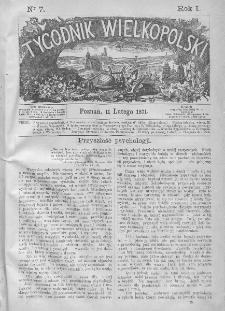 Tygodnik Wielkopolski. 1871, nr 7