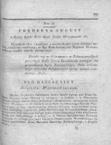 Dziennik Dekretów Sądu Kassacyinego Xięstwa Warszawskiego. T. I. 1810, nr 73