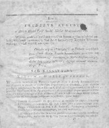 Dziennik Wyroków Sądu Kassacyinego Xięstwa Warszawskiego. T. 2. 1812. Nr 1