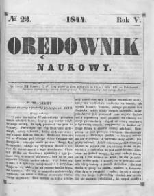 Orędownik Naukowy. 1844, nr 23
