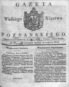 Gazeta Wielkiego Xięstwa Poznańskiego. 1830. Nr 97