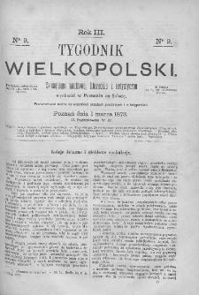 Tygodnik Wielkopolski. 1873, nr 9