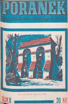 Poranek : tygodnik dla starszych dzieci. 1939. R. II, nr 30