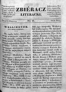 Zbieracz Literacki i Polityczny. 1838. T. II, nr 21
