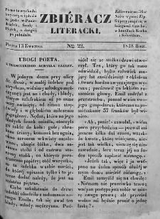 Zbieracz Literacki i Polityczny. 1838. T. II, nr 22