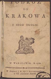 Podróż do Krakowa i jego okolic