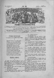 Przyjaciel Dzieci : [pismo tygodniowe nauce i rozrywce młodzieży poświęcone]. T. 17. 1877, nr 28