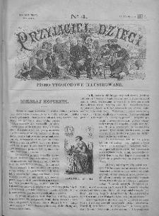 Przyjaciel Dzieci : [pismo tygodniowe nauce i rozrywce młodzieży poświęcone]. T. 30. 1890, nr 4