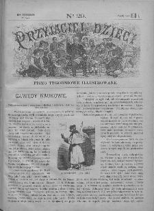 Przyjaciel Dzieci : [pismo tygodniowe nauce i rozrywce młodzieży poświęcone]. T. 30. 1890, nr 29