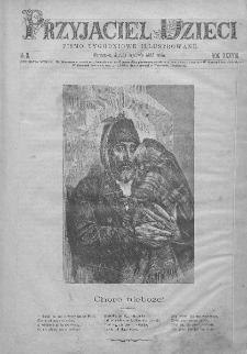 Przyjaciel Dzieci : [pismo tygodniowe nauce i rozrywce młodzieży poświęcone]. T. 38. 1898, nr 3