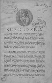 Kościuszko. T 1. 1893. Styczeń