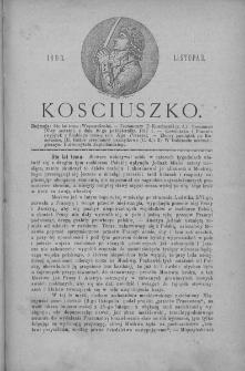 Kościuszko. T 1. 1893. Listopad