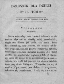 Dziennik dla Dzieci. 1830. T. 2. Nr 77