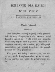 Dziennik dla Dzieci. 1830. T. 2. Nr 78