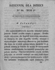 Dziennik dla Dzieci. 1830. T. 2. Nr 94