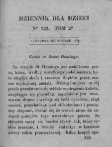 Dziennik dla Dzieci. 1830. T. 2. Nr 122