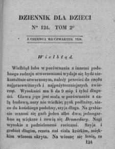 Dziennik dla Dzieci. 1830. T. 2. Nr 124