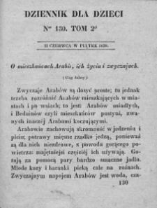 Dziennik dla Dzieci. 1830. T. 2. Nr 130