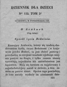 Dziennik dla Dzieci. 1830. T. 2. Nr 132