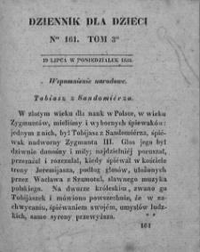 Dziennik dla Dzieci. 1830. T. 3. Nr 161