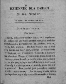 Dziennik dla Dzieci. 1830. T. 3. Nr 164