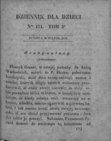 Dziennik dla Dzieci. 1830. T. 3. Nr 171