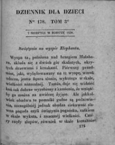 Dziennik dla Dzieci. 1830. T. 3. Nr 178